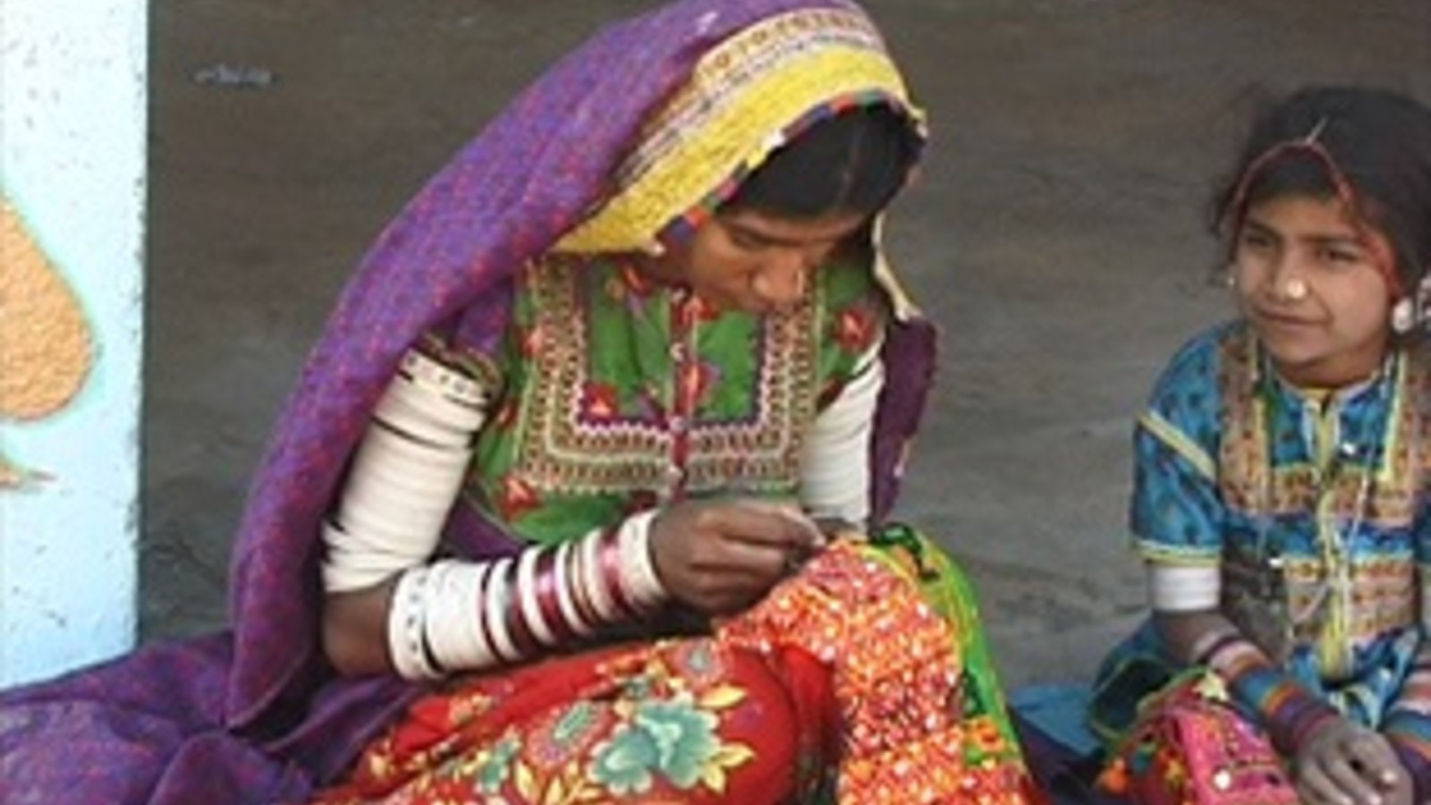 Mirror Work & Embroideries Of Kutch