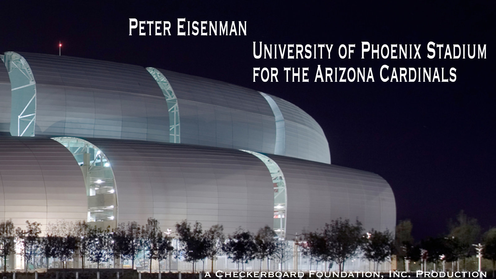 Peter Eisenman - University of Phoenix Stadium for the Arizona Cardinals