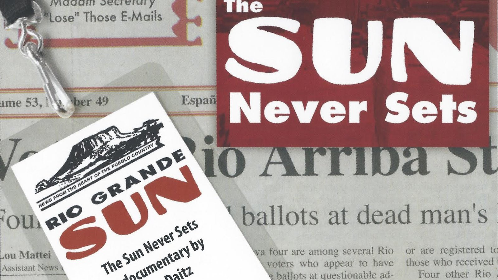 The Sun Never Sets - A Small Town Newspaper