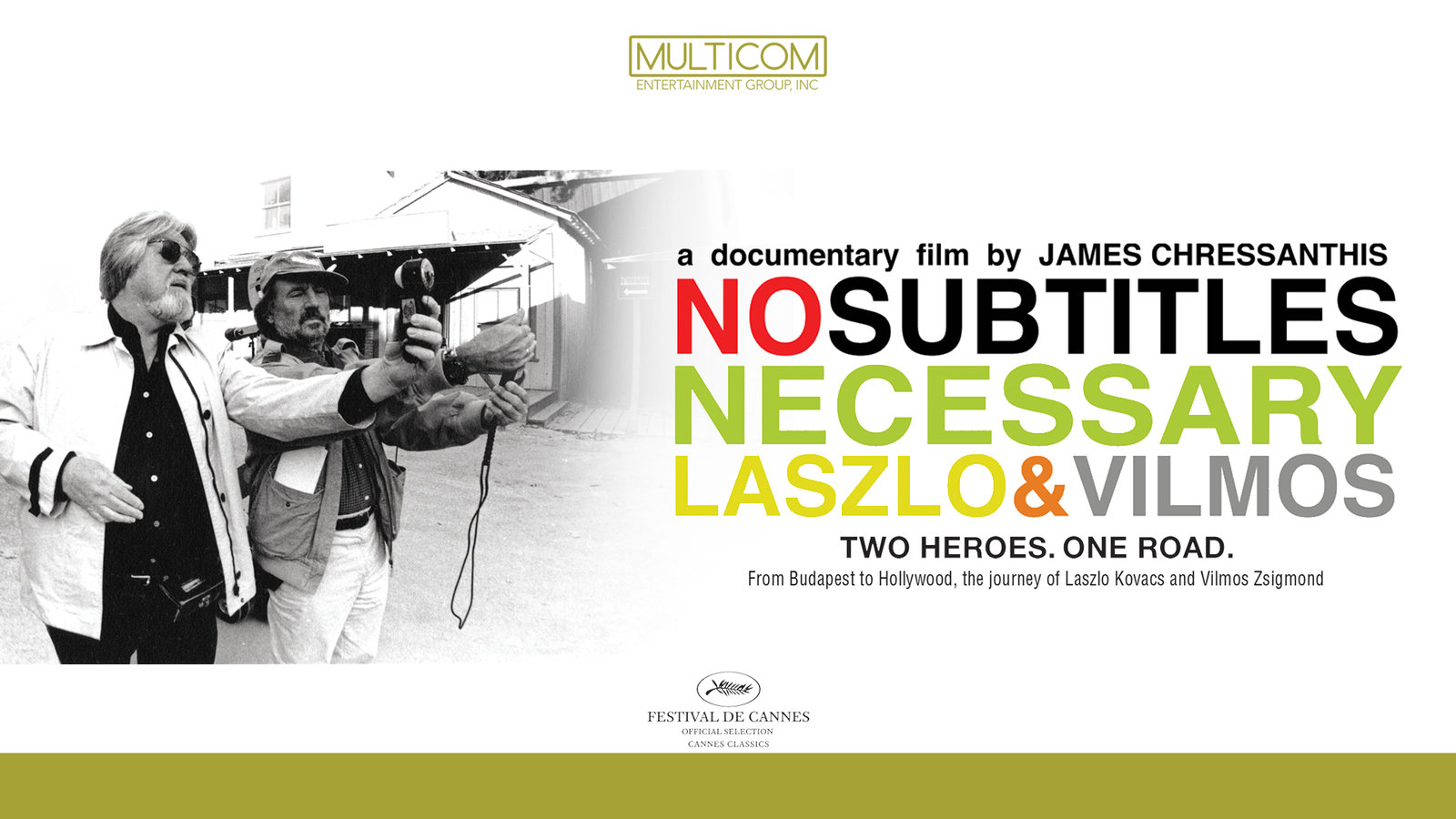 No Subtitles Necessary - The Lifelong Friendship of Two Legendary Cinematographers