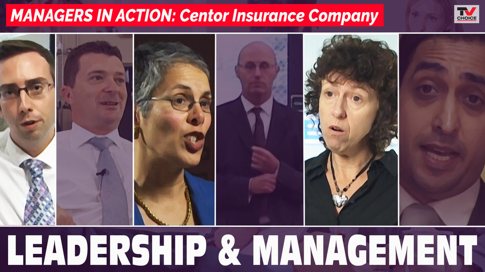Managers in Action: Centor insurance company