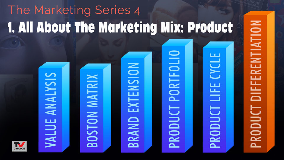 All About The Marketing Mix: Product