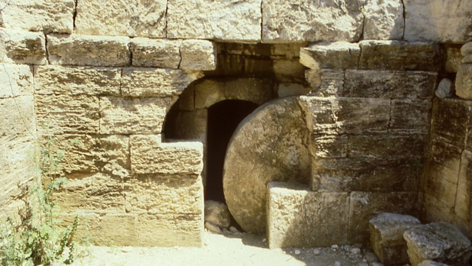 The Burials of Jesus and James