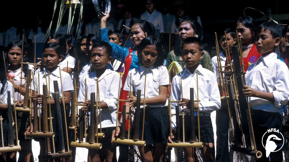 An Angklung Orchestra