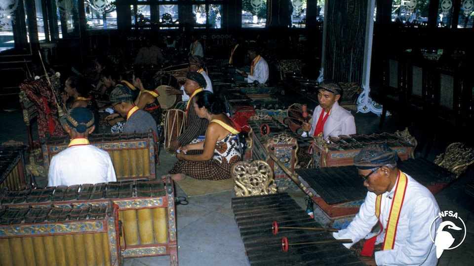 A Balinese Gong Orchestra