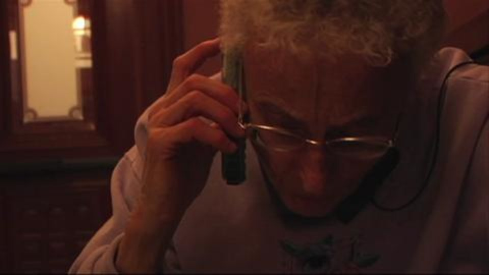 Sister Pat on the Phone