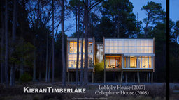 KieranTimberlake - Loblolly House (2007) and Cellophane House (2008)