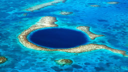 Great Blue Hole—Coastal Symmetry in Sinkholes