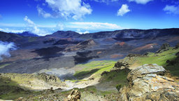 The Hawaiian Islands and Maui's Haleakala