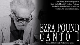 Ezra Pound: Canto I - The American Poet Reads his Work